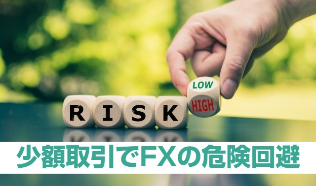 FXはホントに危険なの?リスクを下げる少額取引のポイント4つ