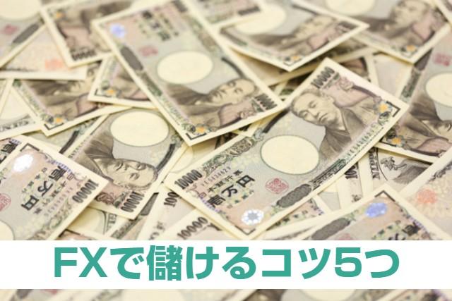 FXで儲けるコツ5つ