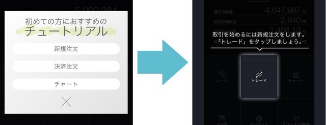 【DMM FX アプリ 使い方】チュートリアル