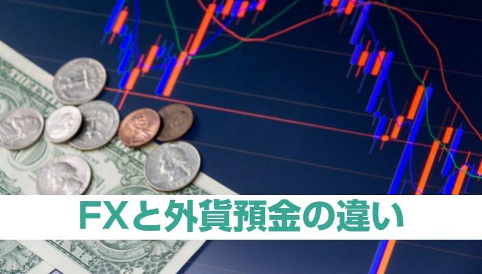 外貨預金よりもレバレッジ1倍のFXから始めるべき理由と違い8つ